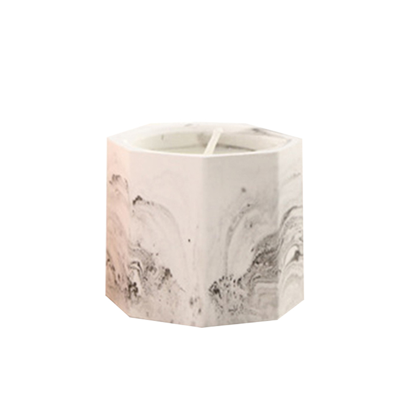 Candle supplier own brand customized wholesale ceramic candle holders for home decor