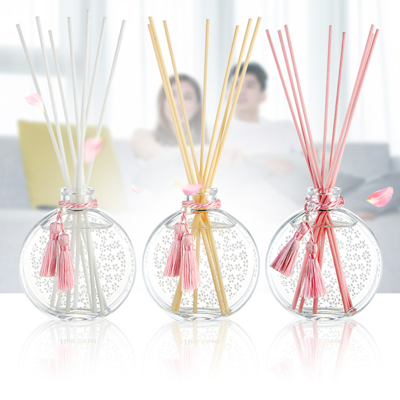 Private label own brand packaging customized wholesale luxury aromatherapy oil reed diffuser for home fragrance and decor