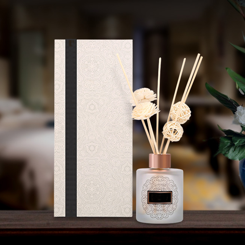 You own brand customized private label wholesale luxury aromatherapy essential oil reed diffuser for home fragrance
