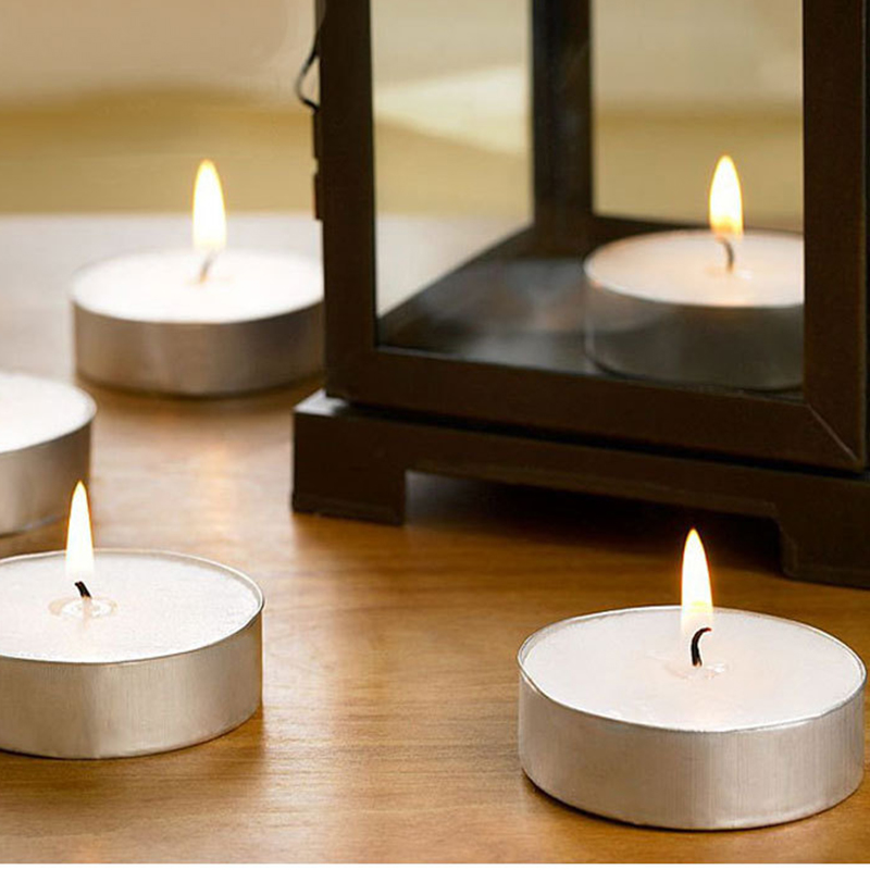 Free sample supply high quality wholesale tealight candles with personalize packaging and label
